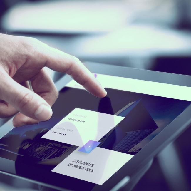 tablet version webdesign ecommerce