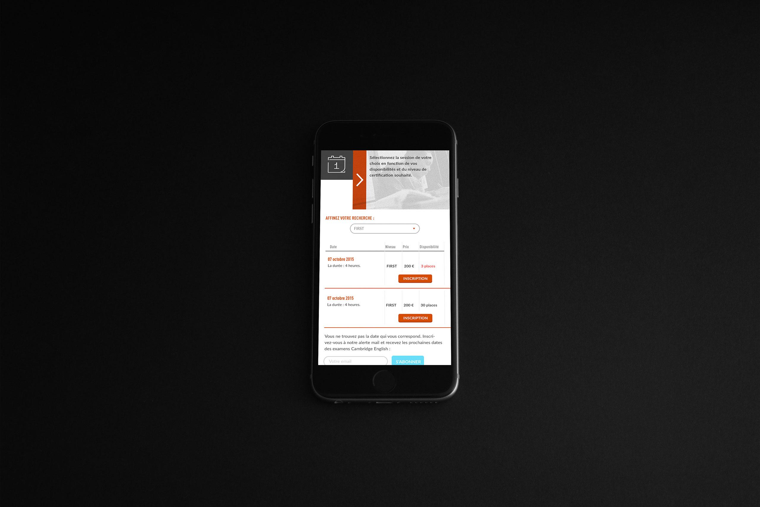 mobile design details