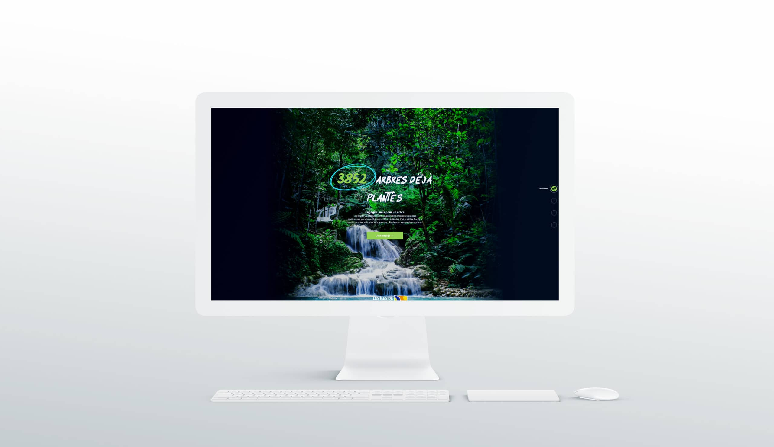 desktop webdesign exemple