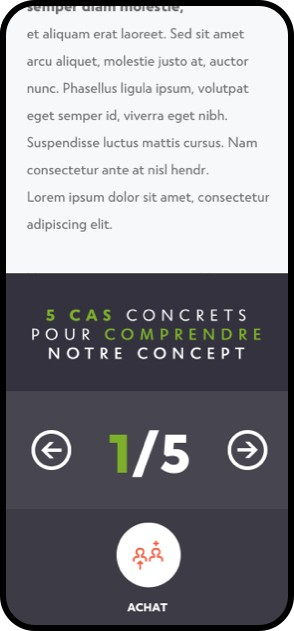 mobile webdesign exemple